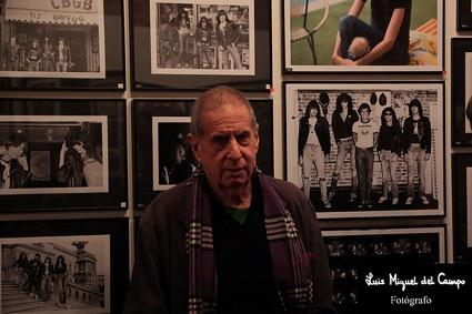 Danny Fields por Luis Miguel del Campo, fotógrafo de rock