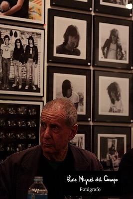 Luis Miguel del Campo fotógrafo de rock
