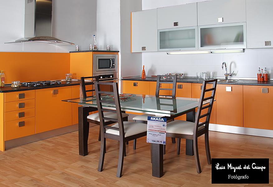 Cocina de catálogo por fotógrafo profesional en Madrid LMC