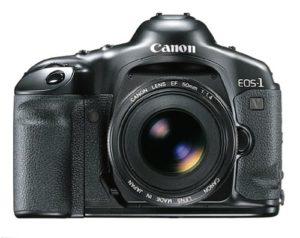 Última de las cámaras Canon con carrete