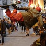 Estatua viviente tomada por un fotógrafo profesional de Madrid