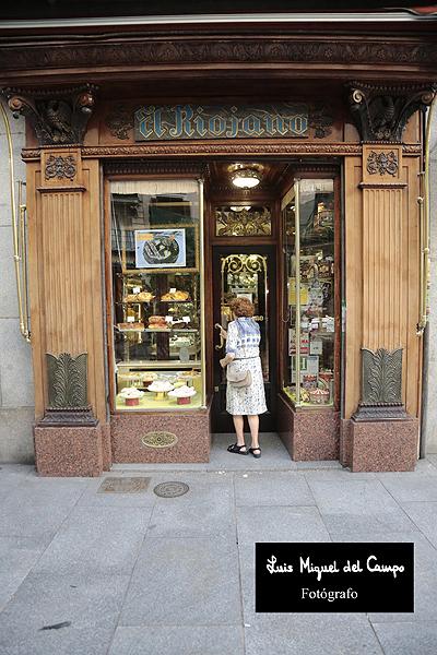 Pastelería El Riojano por fotógrafo profesional en Madrid