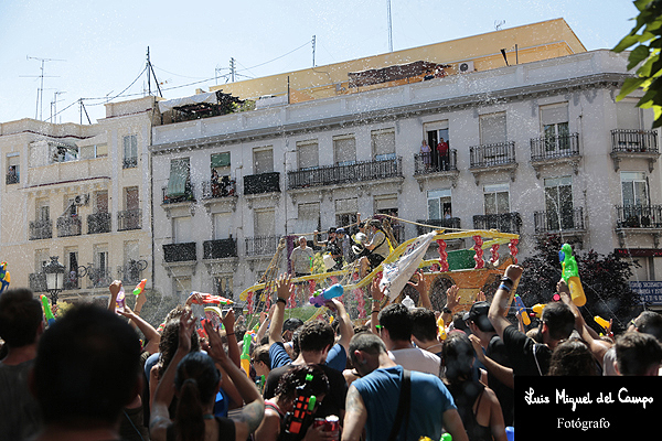 Batalla Naval de Vallecas por fotógrafo de eventos en Madrid