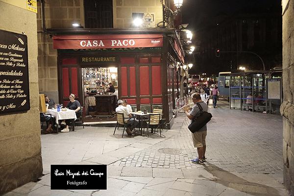 Casa Paco por fotógrafo profesional en Madrid