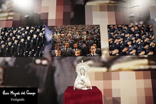 Detalle de una de las obras fotográficas expuestas en Madrid