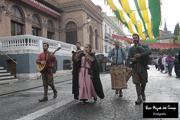 Músicos del Mercado Cervantino por fotógrafo profesional en Madrid