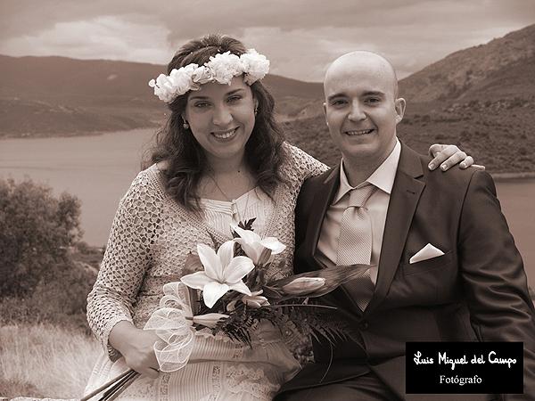 Acabado de uno de mis reportajes de bodas