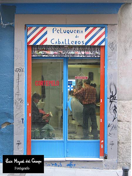 Peluquería por fotógrafo en Madrid