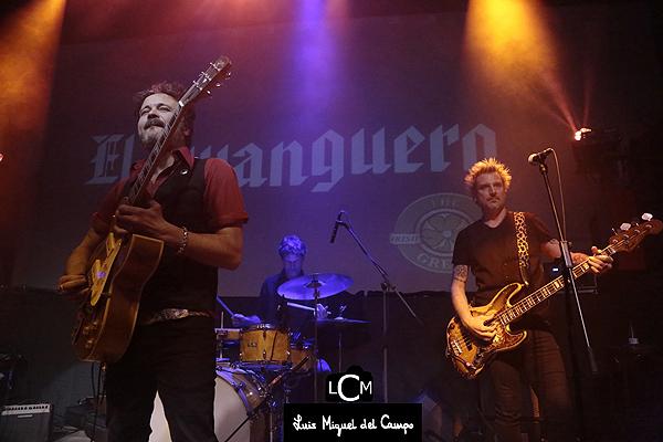 Fotografía de espectáculos: banda de El Twanguero