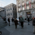 fotógrafo de calle en Madrid