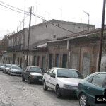 Calle degradada por fotógrafo en Madrid