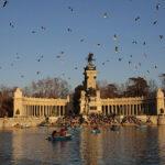 Vista del Estanque del Retiro por fotógrafo profesionl en Madrid