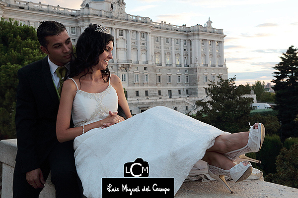Fotógrafo de boda barato en Madrid
