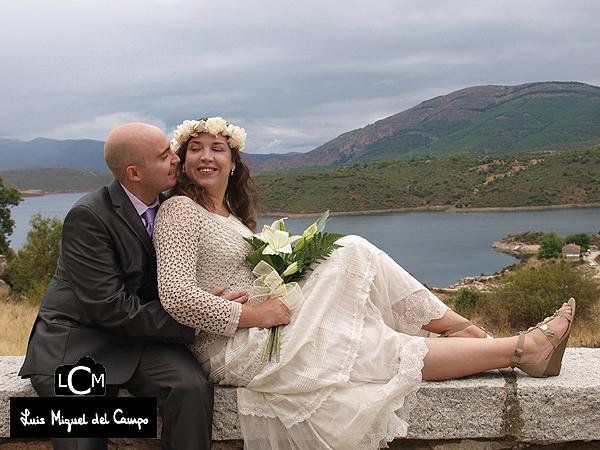 Instantes relajados de un reportaje de boda