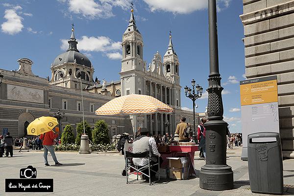 Estampa de la Almudena por fotógrafo profesional de Madrid LMC