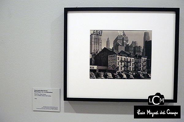 Exposición de Berenice Abbott en Madrid