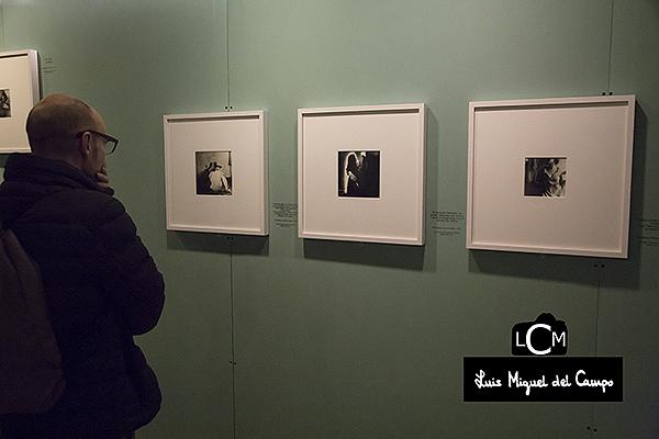 Vista de la exposición de la fotógrafa Francesca Woodman