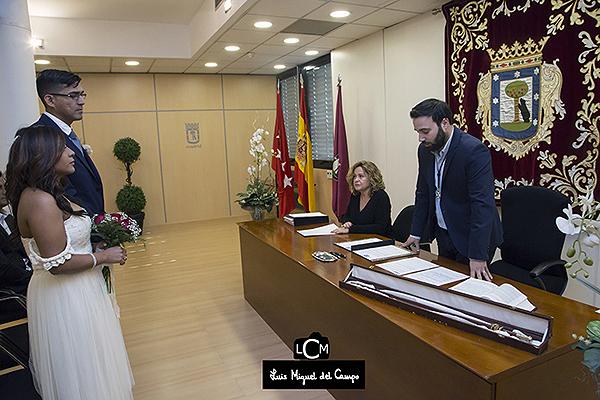reportaje de boda en ayuntamiento