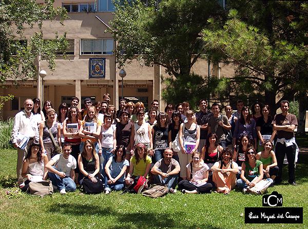 Fotografía de grupo en Madrid