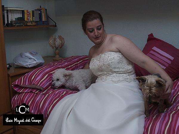 Fotografía en los momentos de espera de las bodas