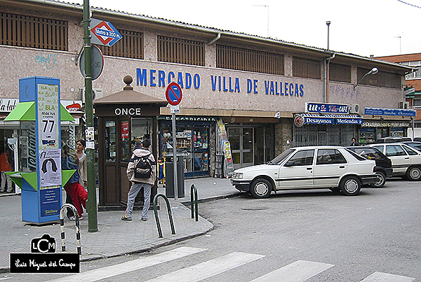 Antiguo mercado municipal de Villa de Vallecas