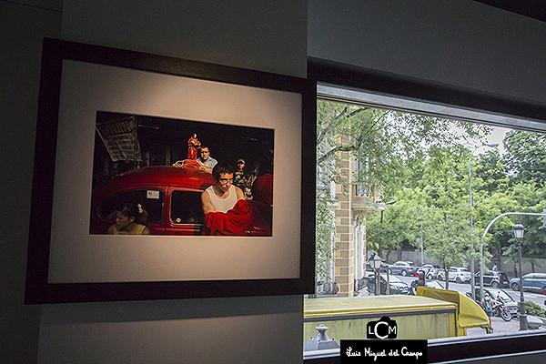 Muestra de la fotógrafa Adriana Zebbrauskas en Madrid