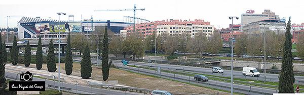 Fotógrafo de radiología urbana en Madrid