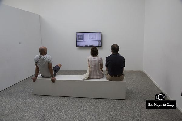 Zona acondicionada para ver el material audiovisual