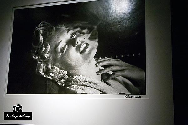 Marilyn Monroe por Elliott Erwitt