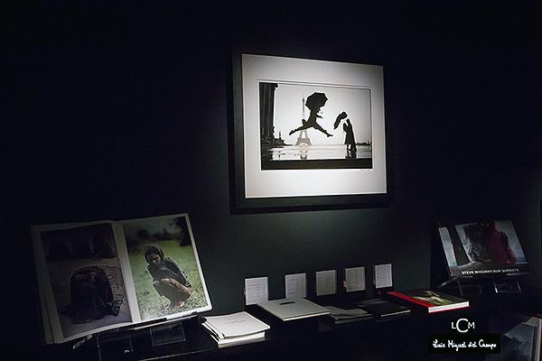 Un rincón de Leica Gallery de Madrid