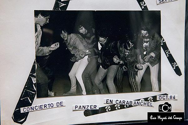 Fotografía de Miguel Trillo de la época de la Movida Madrileña