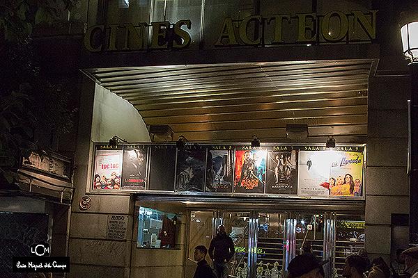 Antiguos cines Acteón de Madrid