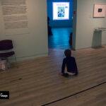 Instantánea de la exposición de Lee Friedlander en Madrid