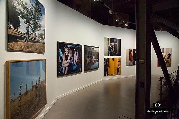 Varias de las fotografías de Carmela García expuestas