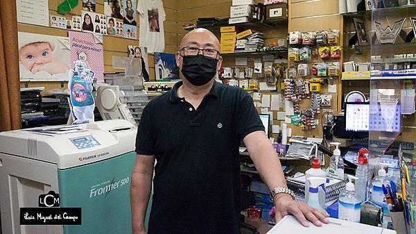 Paco, gerente de Foto Fany