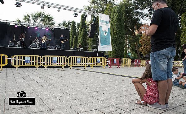 Escenario Sideral del Festival Gigante