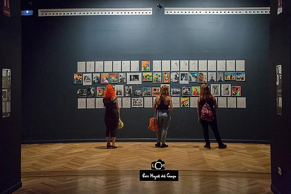 Vista de la exposición de Ouka Leele